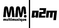 Multimusique et A2M, école de musiques actuelles Logo